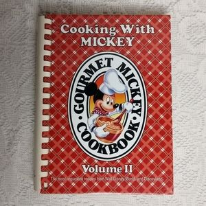 Cooking With Mickey Mouse Disney Gourmet Cookbook